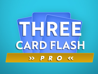 Three Card Flash Pro