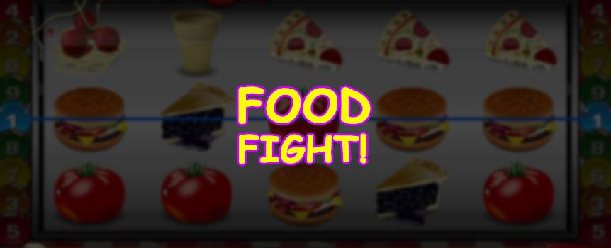 How to play the Food Fight Slot
