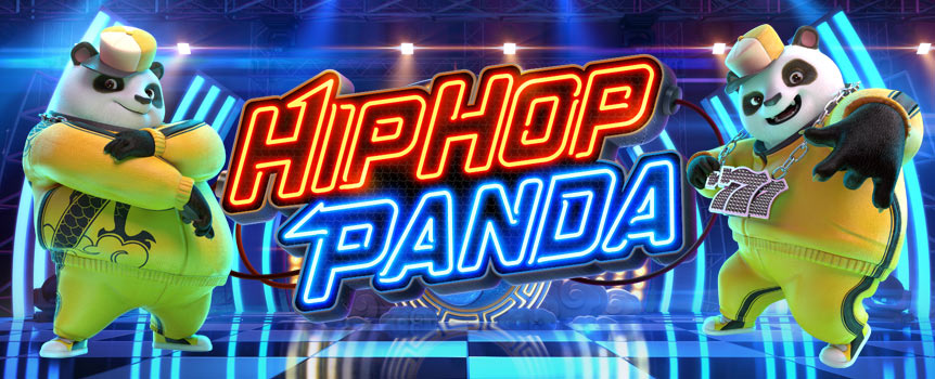 FREESTYLE YOUR HIP HOP SPINS TO WIN BONUS MULTIPLIERS!  Groove along with Hip Hop Panda and stack up your multiplied wins! Stand a chance to have your symbol wins multiplied by x50 during Free Spins Feature.